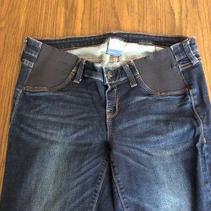 Old navy maternity jeans skinny leg